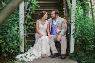 Blue Dress Barn Wedding Photography