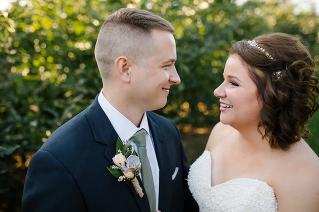 Southwest Michigan Orchard Wedding